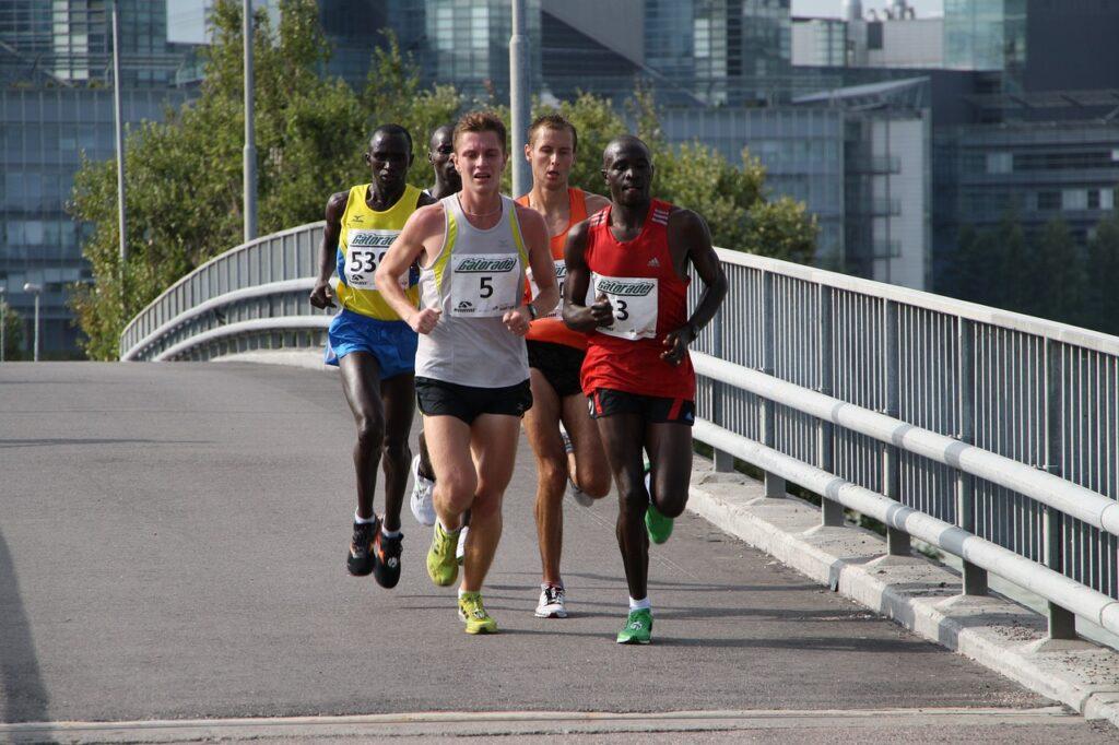 marathon, running, runner