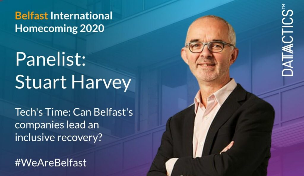 Stuart Harvey, Belfast International Homecoming, Belfast, Inclusive Recovery, Diversity, Inclusion, Education