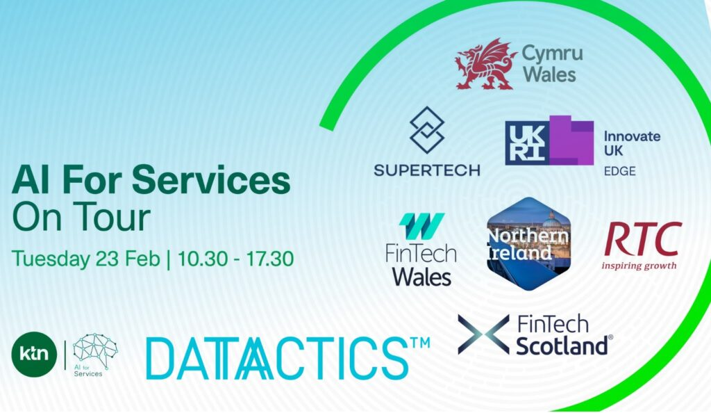 Datactics Round-Up : AI For Services on Tour