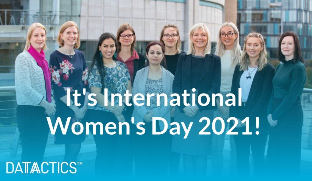 International Women's Day at Datactics!
