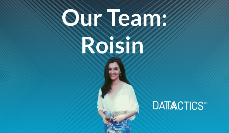 Our team Roisin, Graduate Research Associate and writer