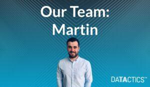 our team martin, data management consultant. formula 1