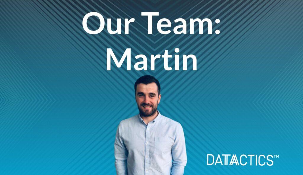 our team martin, data management consultant