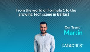 martin vance, from the world of fromula 1 to the growing tech scene in belfast