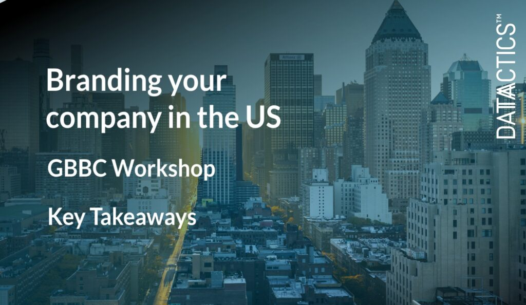 branding your company in the US, gbbc workshop