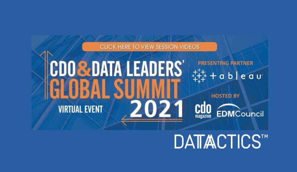 CDO and Data Leaders Global Summit