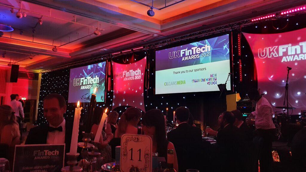 Data Quality Guru Julian Attends the UK Fintech Awards 2021