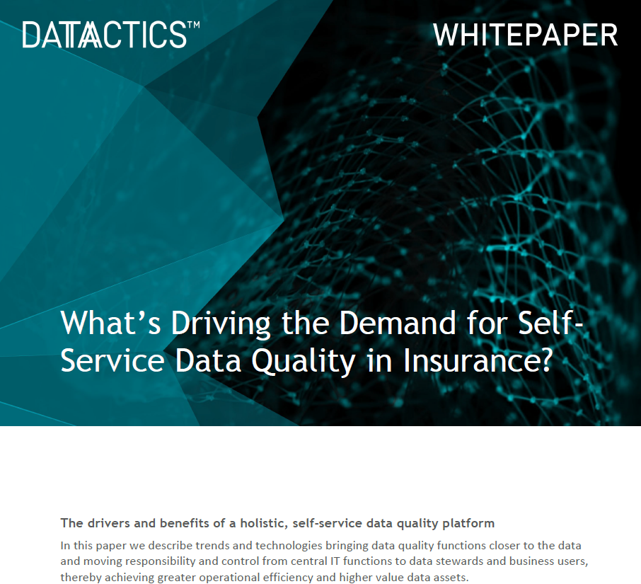 Datactics ssdq in insurance cover image