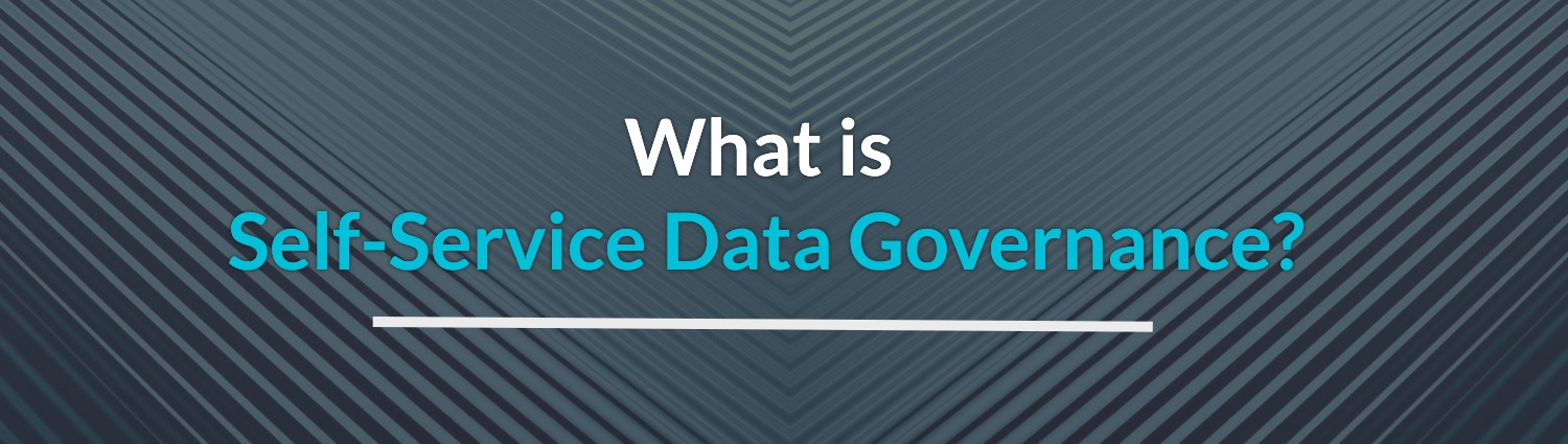 What is self service data governance